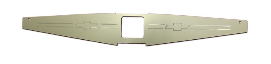 """1967-69 Camaro Anodized """"Bowtie"""" Show Panel - Undercover Innovations"""