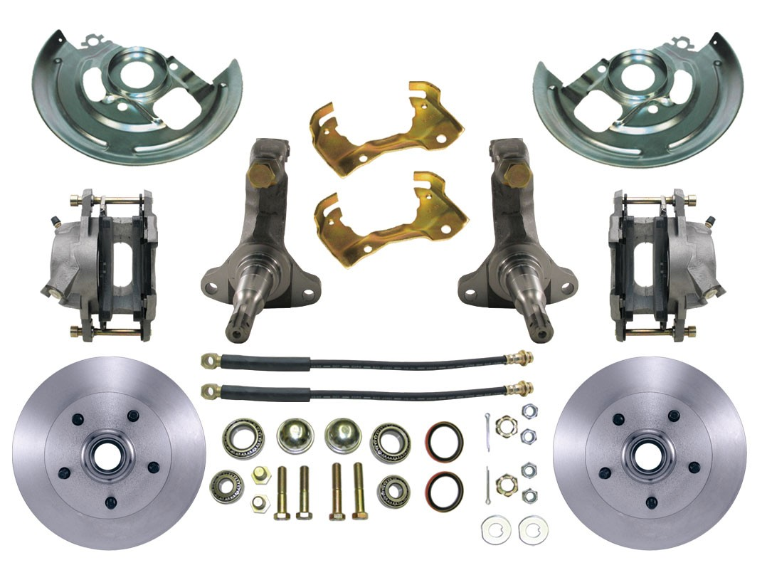 1967-1969 Chevy Camaro Disc Brake Kit - MBM DBK6472