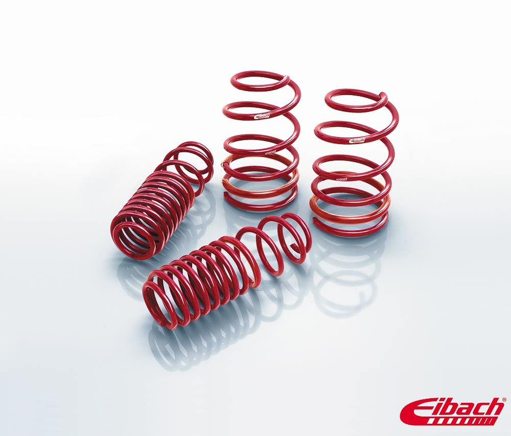 1982-1992 Chevy Camaro Lowering Springs -SPORTLINE Kit (Set of 4 Springs)- Eibach # 4.0138