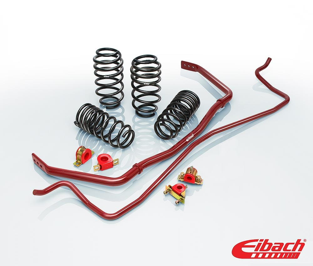 2003-2007 Cadillac CTS- PRO-PLUS (PRO-KIT Lowering Springs & ANTI-ROLL-KIT Sway Bars) - Eibach # 3878.880