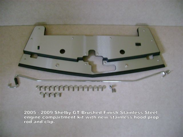2005 - 2009 Shelby GT Show Panel w/hood prop rod