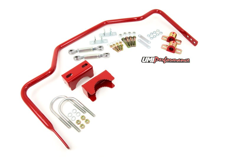 "64-72 Chevelle - 1"" Tubular Rear Sway Bar, Chassis Mounted - UMI Performance # 4047"