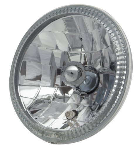 7 Inch Round Diamond Cut Headlights With Halo