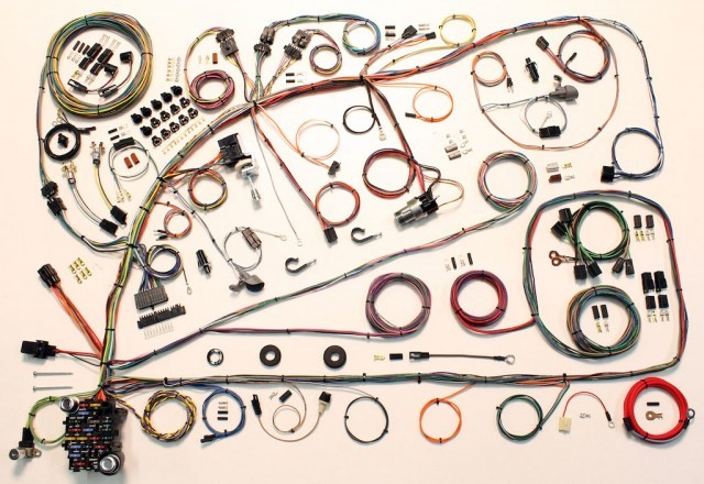 Complete Wiring Harness Kit - 1966-1967 Ford Fairlane Part# 510391