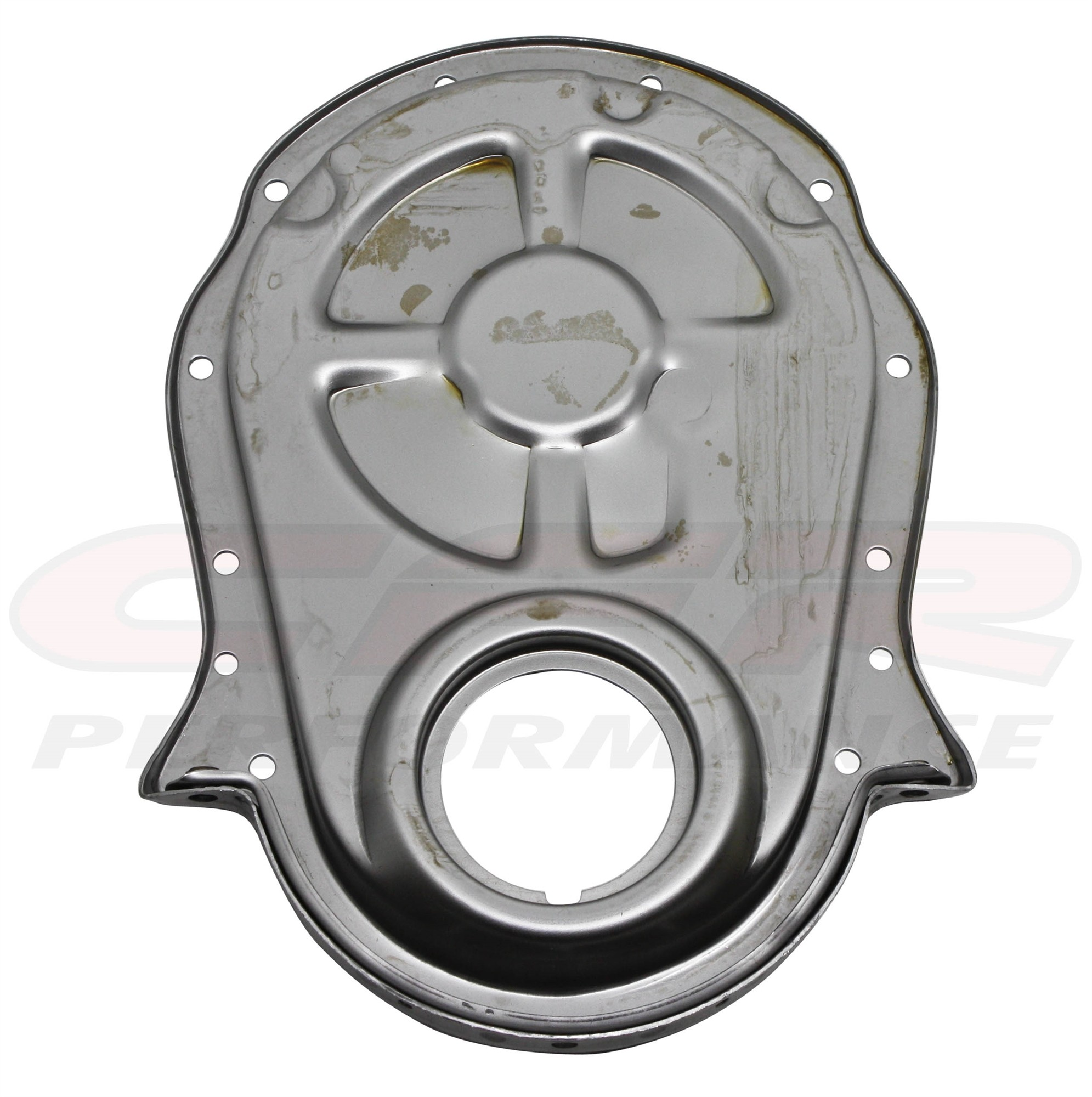 Steel 1966-90 Chevy Bb 396-402-427-454 Timing Chain Cover - Raw