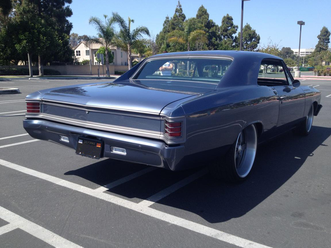 Pro touring parts for 1967 chevelle s