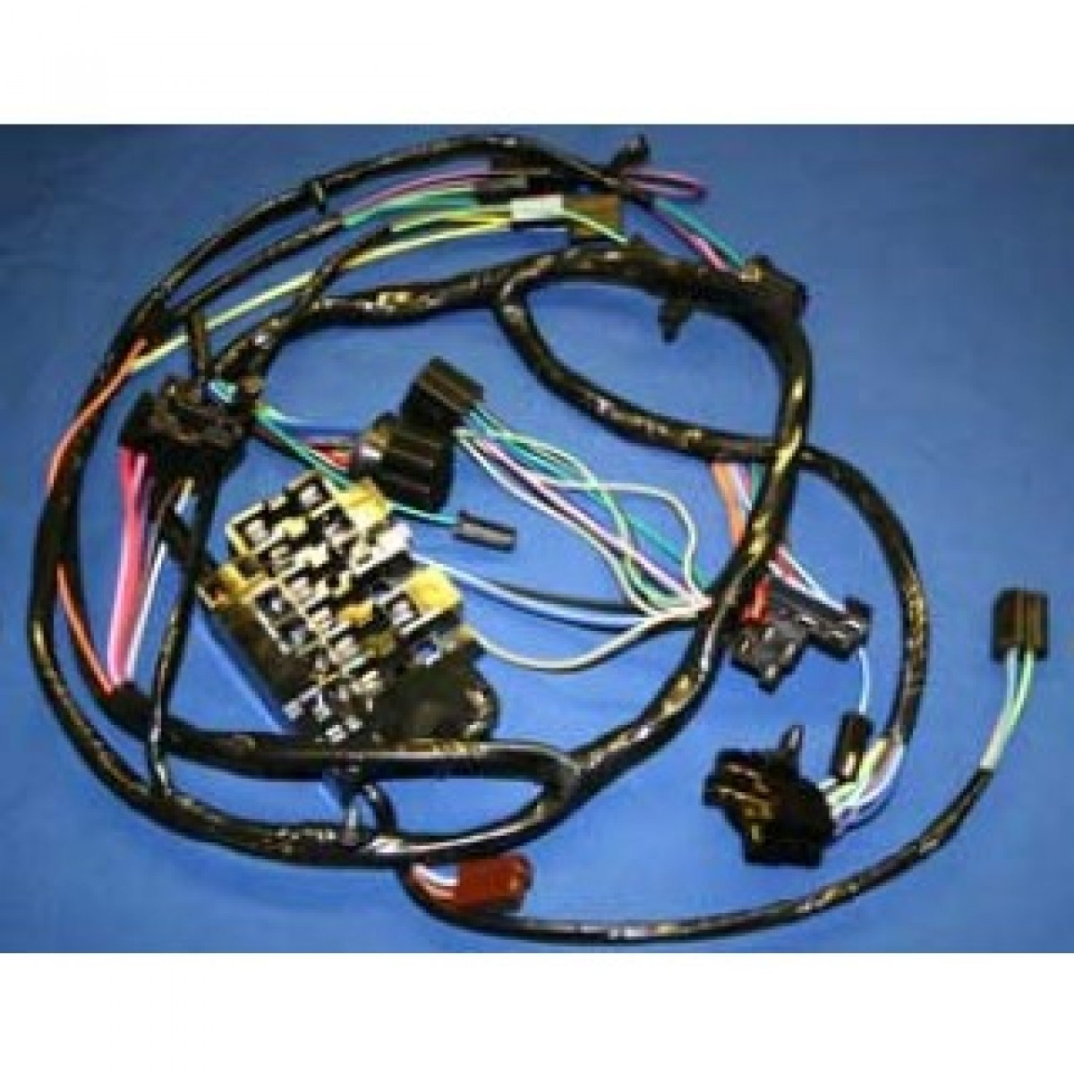 C10 Dash Harness Wire Center Cell Plantcellstructurestheir Tufesa Las Vegas Nv Typical Plant 1964 1965 Chevy With Factory Gauges Rh Code510 Com Interior 1966