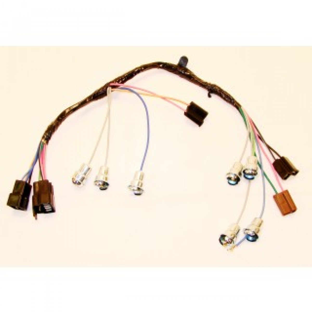 Under The Dash Wiring Harness For 1966 Gmc Diagram Chevy Steering Column 1972 1964 C10 Instrument Cluster Harnessunder