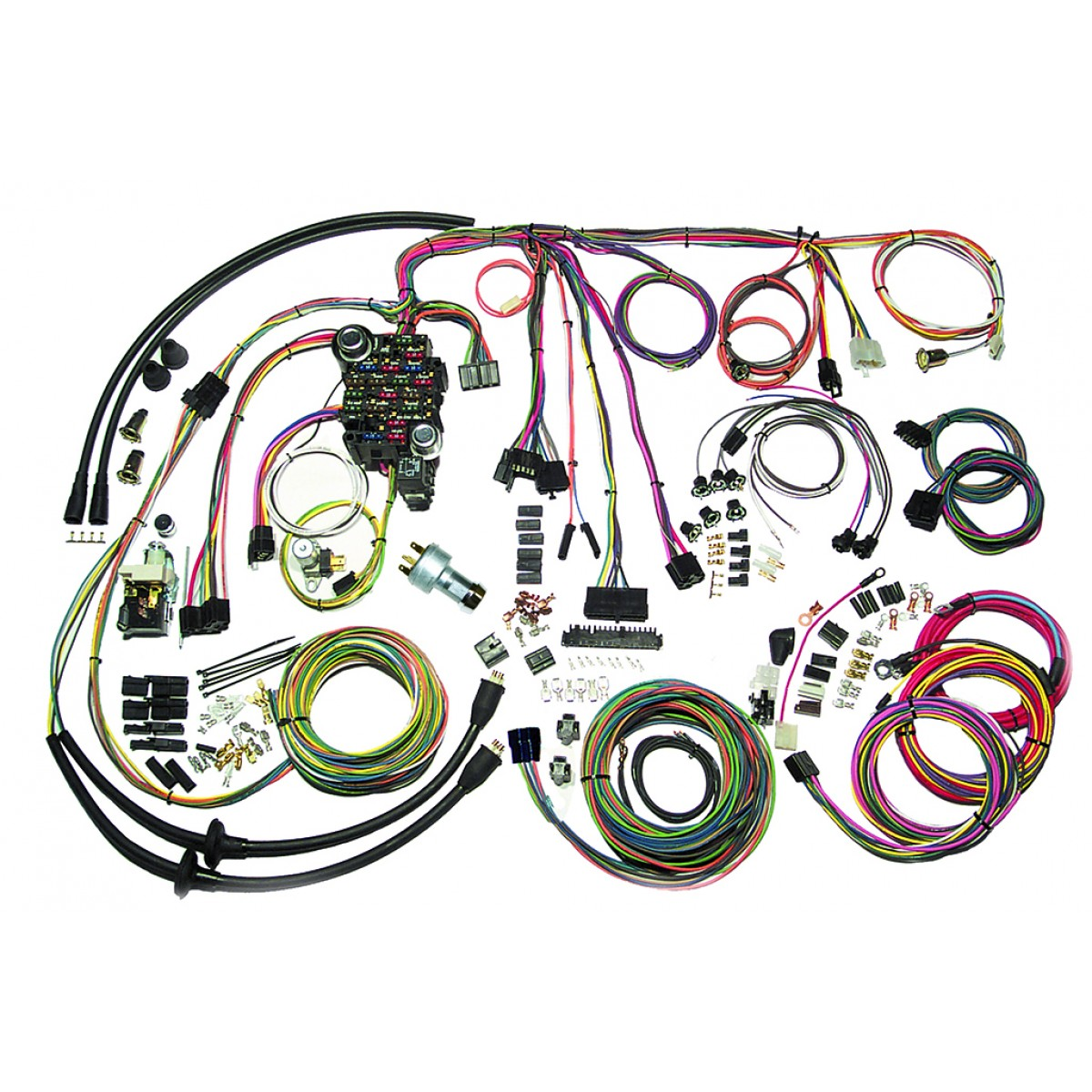 1957 Chevy Bel Air Wiring Harness Data Diagram 57 For Horn Belair Wire Complete Kit Painless