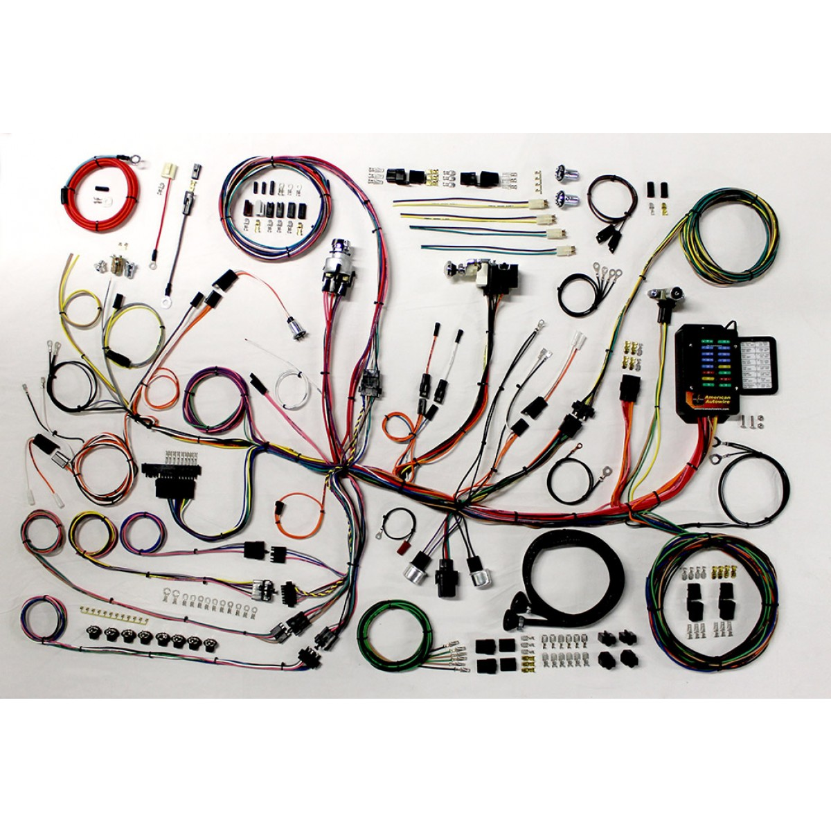1953 1962 Corvette Wire Harness Complete Wiring Kit 62 Chevy Headlight Switch Diagram Schematic Part 510267