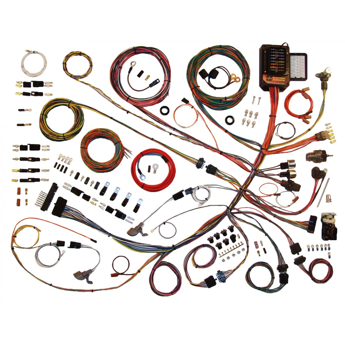 66 Ford F100 Wiring Harness Diagram Online 1962 Cadillac Headlight Switch 1961 1966 Wire Kit Truck Part Excursion