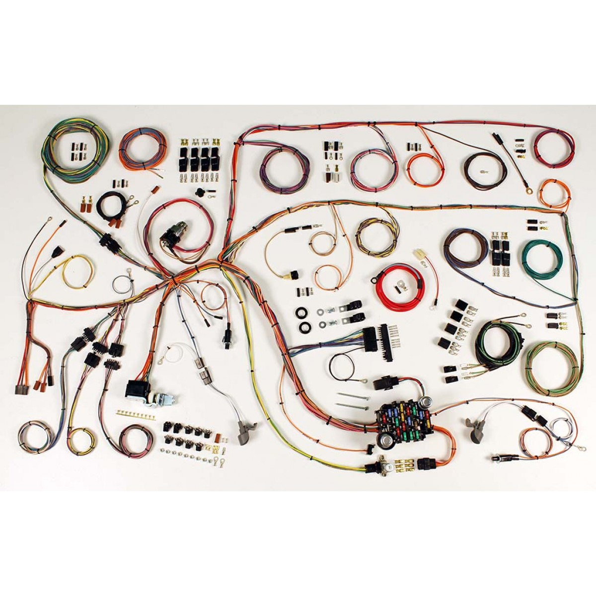1965 F100 Wiring Harness Econoline Diagram Ford Falcon Complete Kit Part Rh Code510 Com Fairlane