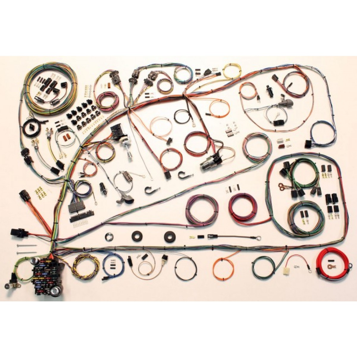 Ford Fairlane Wiring Harness Kit 1966 1967 Part Complete 510391