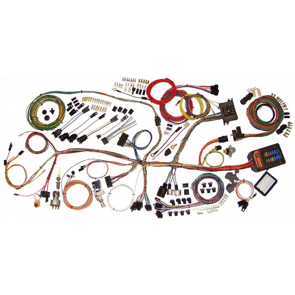 67 Nova Wiring Harness Auto Electrical Diagram 72 Interior 1962 1967 Complete Kit
