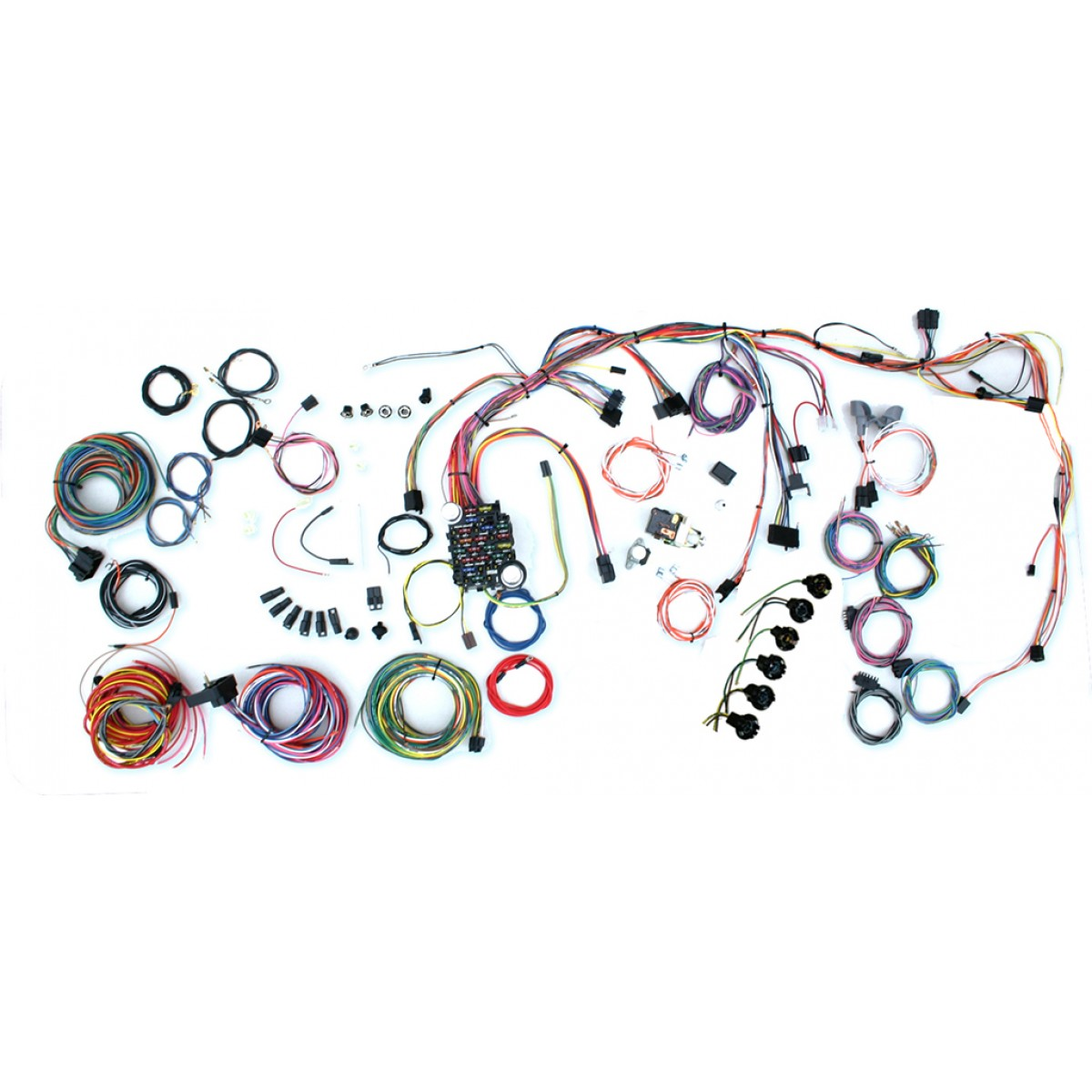 Wiring Harness For 1972 Nova Reinvent Your Diagram Light 78 Chevy 1969 Complete Kit Rh Code510 Com 1970 4 Cylinder
