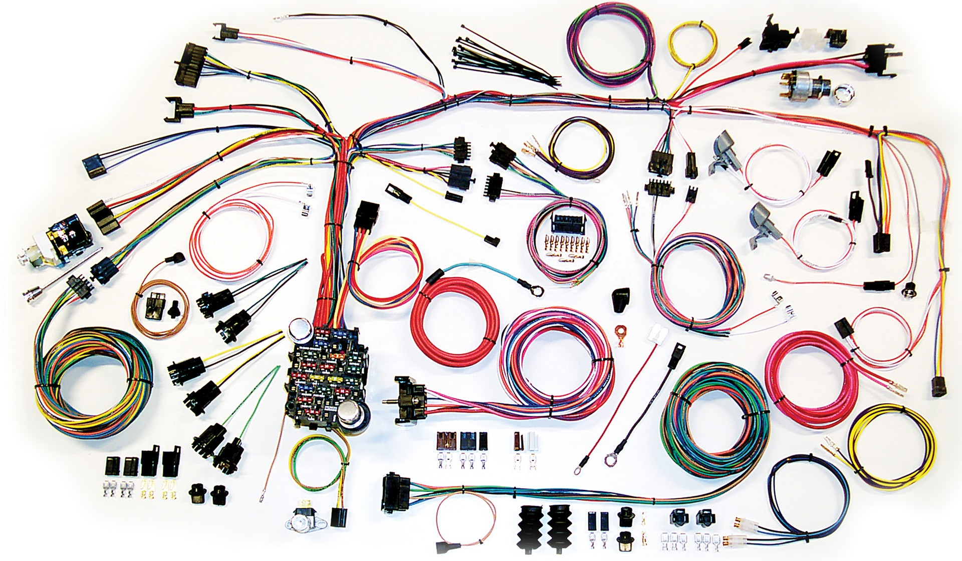 1970 Mustang Complete Wiring Harness 36 Diagram Images 1967 Camaro Fuse Box Schematic Kit 1968 Part 500661 67 68